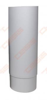 Vertikalusis-Ross vamzdis VILPE D160 šviesiai pilkas