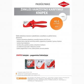 Žirklės plastikiniui ir daugiasluoksniui vamzdžiui, 12-25mm
