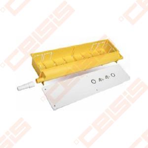 Potinkinė dėžutė kondensatui 430x130x65 mm iš ekologiško PVC