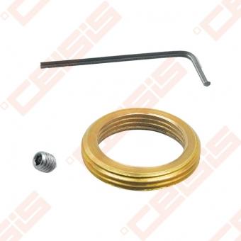Jungtis (spalva: bronza) termostatinei galvai; M30 x 1,5