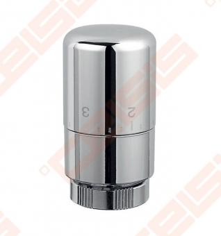 Chromuota termostatinė galvutė M30 x 1,5