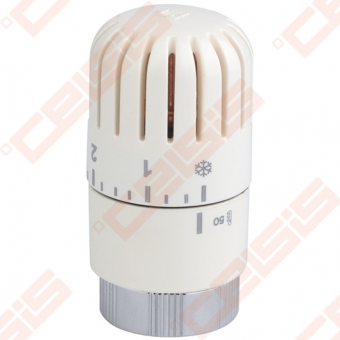 Termostatinė-vaškinė galva (spalva: blizgi balta) CARLO POLETTI A417; M30 x 1,5