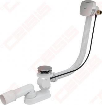 Sifonas voniai metalinis su pripildymu