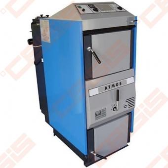 Plieninis dujų generacinis kieto kuro katilas Atmos AC 25 S; 15-26kW