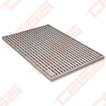 Cinkuoto plieno ACO Vario grotelės; Dn 400 x 600 mm