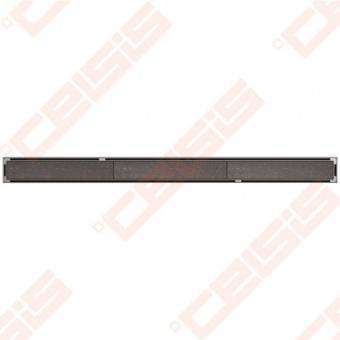 Dušo latakas ACO Tile su ruošiniu įklijuoti plytelėms ir horizontaliu flanšu, ilgis - 985 mm, aukštis - 92 mm, medžiaga - nerūdijantis plienas, pajungimas - d50