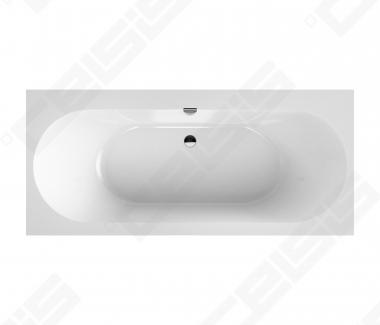 Vonia VILLEROY&BOCH Oberon 2.0 170 x 75 quaryl su sifonu