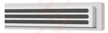 Difuzorius plyšinis priglaistomas VENTMANN LINE trijų plyšių 18mm, L-1250