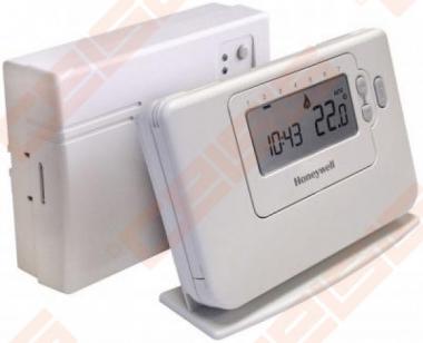 Bevielis patalpos termostatas CMT727, programuojamas savaitei, su 4 temperatūros nustatymais parai. Radijo ryšio veikimo nuotolis - 30m