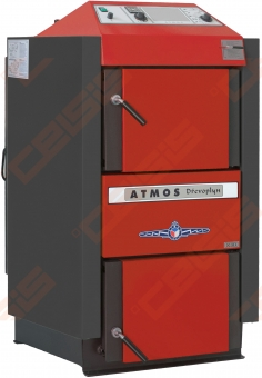 Plieninis dujų generacinis kieto kuro katilas Atmos DC 40 SX; 30-40kW