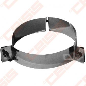 Nerūdijančio plieno trijų atatmpų apkaba (sąvarža) JEREMIAS DW42 Dn100