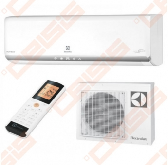 Sieninis oro kondicionierius ELECTROLUX MONACO SPLIT EACS-I07 HM/N3/15Y inverter 2,2/2,3 kW (Vidinis ir išorinis blokas)