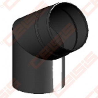 Vienasienė juodo plieno nereguliuojama 60° alkūnė JEREMIAS Ferro1408 Dn120