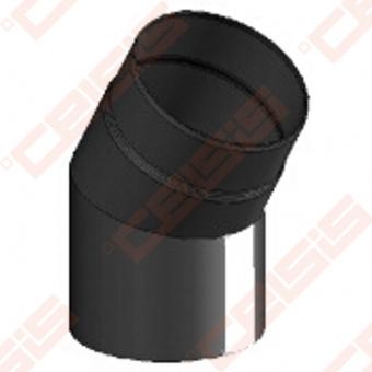 Vienasienė juodo plieno nereguliuojama 30° alkūnė JEREMIAS Ferro1411 Dn120