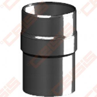 Vienasienė juodo plieno jungtis(praplatinimui) JEREMIAS Ferro-E1 Dn120 -> 130