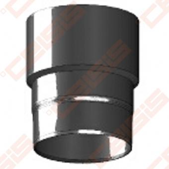 Vienasienė juodo plieno jungtis(susiaurinimui) JEREMIAS Ferro-R1 Dn200 -> 180