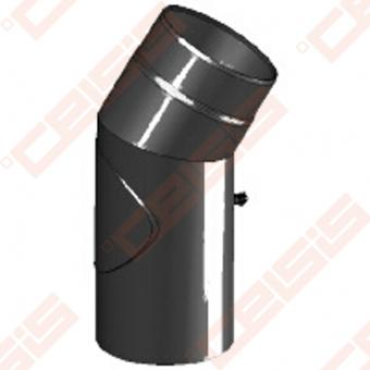 Vienasienė juodo plieno nereguliuojama su pravala 30° alkūnė JEREMIAS Ferro1461 Dn120