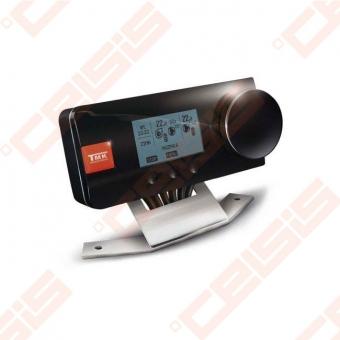 Elektroninis valdiklis skirtas ventiliatoriaus, centrinio šildymo sistemos cirkuliacinio siurblio ir boilerio siurblio valdymui
