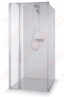 Dušo kabina Brasta Glass KARINA 1195 x 1180 x 2100 skaidrus stiklas
