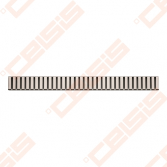Grotelės ALCA PLAST Line latakams APZ1 ir APZ101, ilgis 850 mm (blizigios arba matinės)
