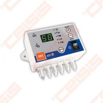 Valdiklis skirtas centrinio šildymo cirkuliacinio siurblio , katilo ventiliatoriaus ir karšto vandens tiekimui į boilerį siurblio valdymu