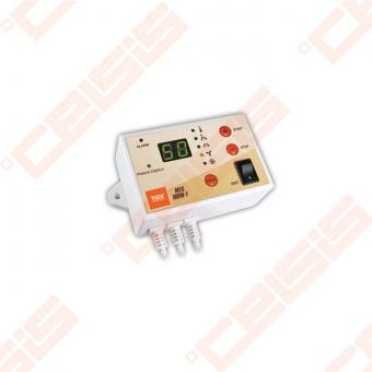 Valdiklis skirtas automatiniam ventiliatoriaus įjungimui arba išjungimui patalpose kur naudojamas ventiliatorinis šildymas