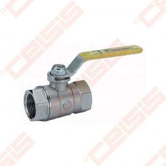 """Žalvarinis chromuotas (matinis) GIACOMINI R850 rutulinis ventilis dujoms Dn3/4"""""""