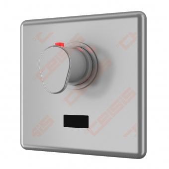 Dušo daviklis SANELA su montažine dėžute ir termostatu, reaguoja į žmogų, 24V