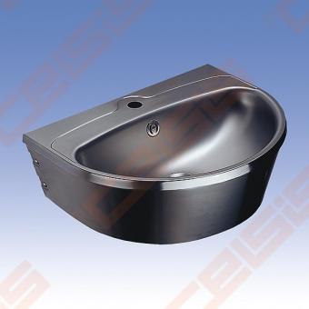 Nerūdijančio plieno plautuvė SANELA 56x43,5x18,5