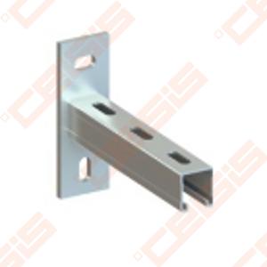 Konsolė NICZUK METALL-PL profiliui montažiniui A2,0 (30x30x2,0 mm) , L-250 mm