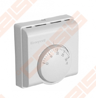 Patalpos termostatas T6360A. Valdymo diapazonas +10...+30°C. Diferencialas 0,5°C, 230 V