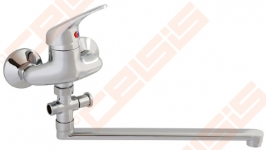 Vonios/dušo maišytuvas SLOVARM TA ilgu snapu su dušo komplektu (L=300 mm)