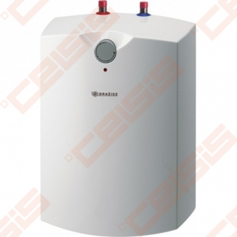 Elektrinis vandens šildytuvas DRAŽICE TO 10 IN (6 bar) (po prausykle)