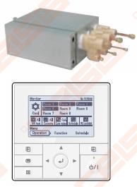 Dėžutė paskirstymo FUJI ELECTRIC 2 blokams