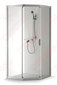 Dušo kabina Brasta Glass VAIVA 90 x 90 x 1966 skaidrus st