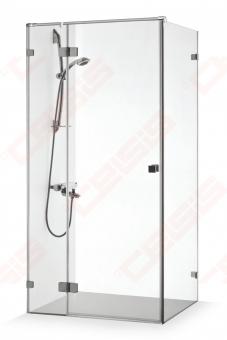 Dušo kabina Brasta Glass VITA PLIUS 915 x 910 x 1900 skaidrus stiklas