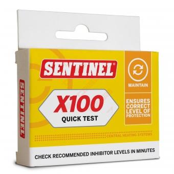 Testas X100 inhibitoriaus  koncentracijai
