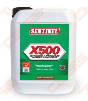 Antifrizas su inhibitoriumi šildymo sistemai Sentinel X500 5L